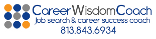 career wisdom coach logo with phone number