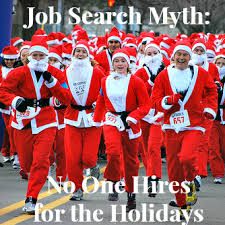 holiday job search myths