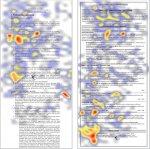 heatmap of a resume #2