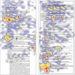 heatmap of a resume #2