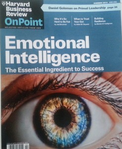 Harvard Business Review endorses Emotional Intelligence with a special edition publication June 2014